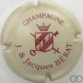 Champagne capsule 1 Crème et bordeaux