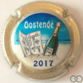 Champagne capsule 3.a Oostende 2017, contour or