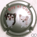 Champagne capsule 9 Chiens, Boy et Omer