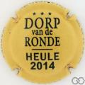 Champagne capsule 4.a Dorp van de Ronde Heule2014