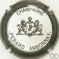 Champagne capsule 23.e Contour noir, fond blanc
