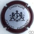 Champagne capsule 14 Contour bordeaux