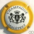 Champagne capsule 15.b Contour jaune orangé
