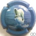 Champagne capsule 2.a Contour bleu foncé