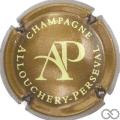 Champagne capsule 4.a Marron métallisé et crème