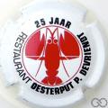 Champagne capsule 1 25 ans, restaurant