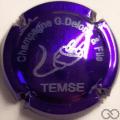 Champagne capsule 10.c 2014, violet métallisé