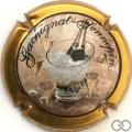 Champagne capsule 3 Contour or foncé