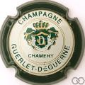 Champagne capsule 13 Contour vert foncé