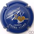Champagne capsule 616 An 2000, sur n°616, bleu