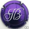 Champagne capsule 1 Violet métallisé, JB blanc