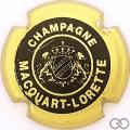 Champagne capsule H6402.h Noir, contour or
