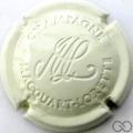Champagne capsule 10 Estampée crème