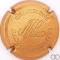 Champagne capsule 13 Estampée cuivre