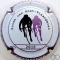 Champagne capsule 015.b 2015, contour violet métallisé
