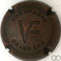 Champagne capsule 7 Estampée vieux bronze