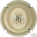 Champagne capsule 115.g Gris, ovale estampée en relief