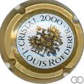 Champagne capsule 99 Mathusalem, Cristal 2000