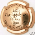 Champagne capsule H7908.b Cuivre