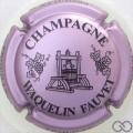 Champagne capsule 4 Rosé violacé et noir