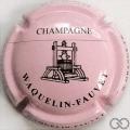 Champagne capsule A1 Rose pâle et noir