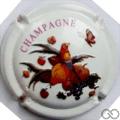 Champagne capsule 9.f Jéroboam, fond blanc