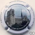 Champagne capsule 40 Notre Dame de Paris