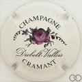 Champagne capsule 1 Rose violette, petites lettres