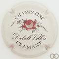 Champagne capsule 2 Rose rose, grandes lettres