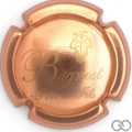 Champagne capsule 10 Cuivre brillant et or