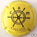 Champagne capsule 37.h Fond jaune mat