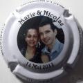 Champagne capsule H5306.m Marie & Nicolas