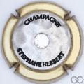Champagne capsule 7.b Bronze contour or, avec strass