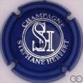 Champagne capsule 6.n Opalis, bleu foncé et argent