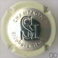 Champagne capsule 32.bt Estampée contour crème