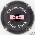 Champagne capsule 3 Bleu nuit, lettres blanches
