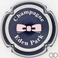 Champagne capsule 4 Bleu nuit, cercle argent