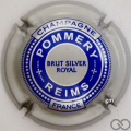 Champagne capsule 117.c Brut Silver Royal