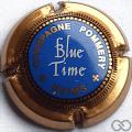 Champagne capsule 96.a Bleu Time, or-vif