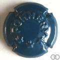 Champagne capsule 44.c Quart, bleu