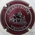Champagne capsule 2 Marron et blanc