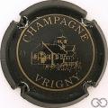 Champagne capsule 6 Noir et or