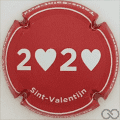 Champagne capsule 14 Saint-Valentin 2020