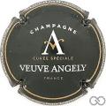 Champagne capsule 1.c Noir, blanc et or