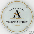 Champagne capsule 1 Gris pâle, noir et or