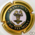 Champagne capsule 15 Vert, lettres épaisses