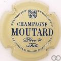 Champagne capsule 2 Crème et bleu
