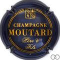 Champagne capsule 13.g Bleu foncé métal et cuivre