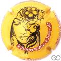 Champagne capsule 16 Fond jaune