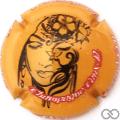 Champagne capsule 16.a Fond orange